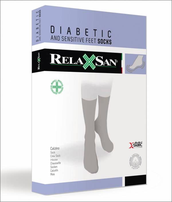 Sosete pentru diabetici unisex - bej