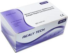 Test rapid antigen COVID 19 Realy saliva x 5 teste/cutie