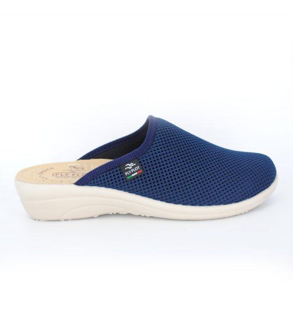 Papuci microfibra FLY FLOT - Albastru