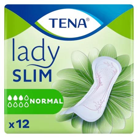 Absorbante pentru incontinenta urinara TENA Lady Slim Normal x 12 buc