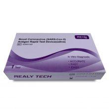 Test rapid Covid-19, antigen, Realy saliva x 1 test/cutie